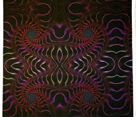 Fantastic fractal spiral