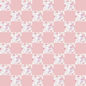 Blender Pink check    1 inch Check