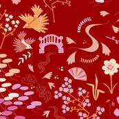J-pop Garden (red)