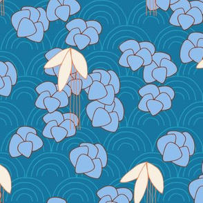 Orientadelic Blossom (blue)