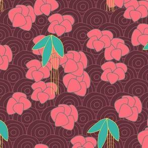 Orientadelic Blossom (red)