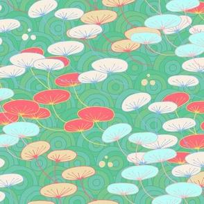 Orientadelic Seedpods