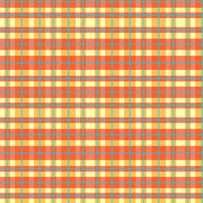 Ginghamesque-Orange