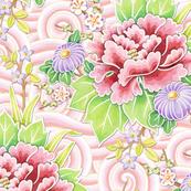 Pink Kimono Bouquet
