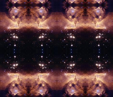 Emission Nebula fabric by tetonbadger on Spoonflower - custom fabric