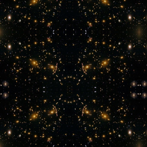 Hubble Large Field View Galaxy Cluster Abell