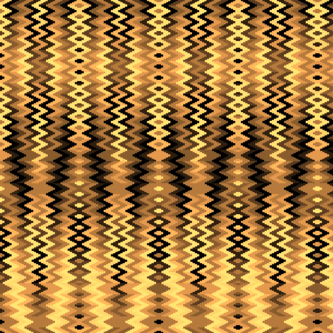Wavy Groovy 08 fabric by anneostroff on Spoonflower - custom fabric