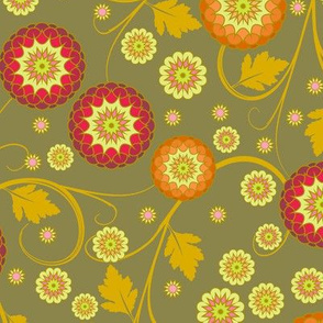 Festival of Happiness - Autumn Khaki