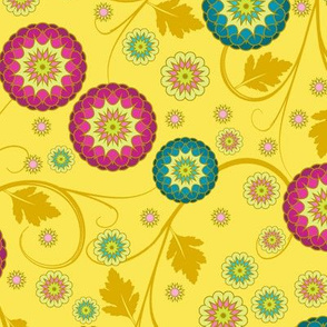 Festival of Happiness - Spring Yellow