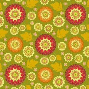 Festive Kiku - Autumn Olive