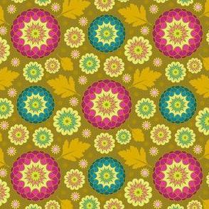 Festive Kiku - Spring Gold