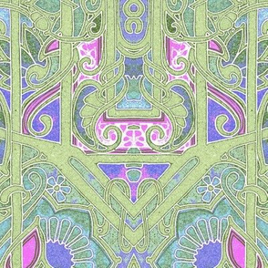 In a Geometric Edwardian Floral Mood
