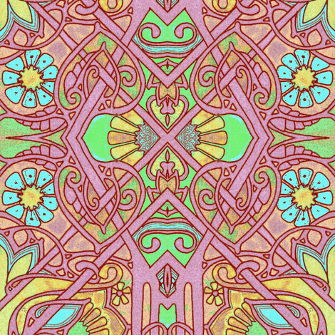 That Popsicle Summer fabric by edsel2084 on Spoonflower - custom fabric