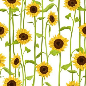sunflower fabric  wallpaper   gift wrap spoonflower happy dog clipart free happy dog clipart free