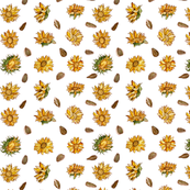 Sunflowers (Small Pattern)