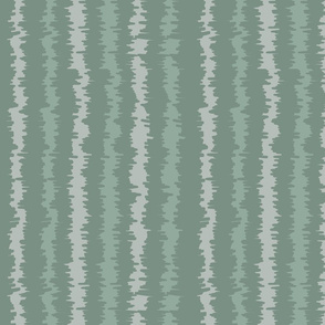 Ikat Green Stripes