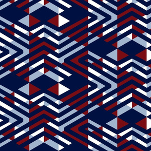 abstract_triangles_navy_burgundy