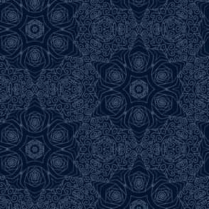 Mandala Starry Blue Space