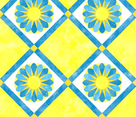 Cheater_quilt_sunflower_pattern_yellow_blue_white-01_shop_preview