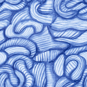 Wavy hand-drawn pattern