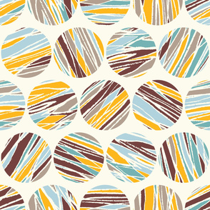Abstract pattern. Abstract circles. Background for scrapbooking, fabric, wrapping paper, etc.