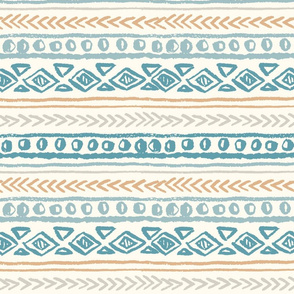 Abstract ethnic pattern, hand draw.