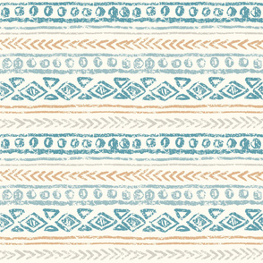 Abstract ethnic pattern, hand draw. Grunge effect.