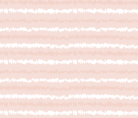 Blush White Ikat Stripes fabric by thestylesafari on Spoonflower - custom fabric