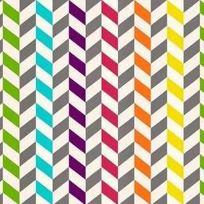 rainbow arrow chevrons