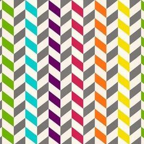 rainbow arrow chevrons