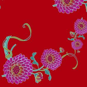 kimono chris red