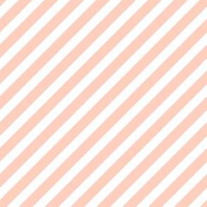peach stripes nursery baby stripe diagonal stripe blush girls orange