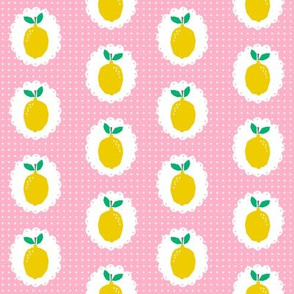 sweet lemon citrus pink girls sweet summer fruit picnic