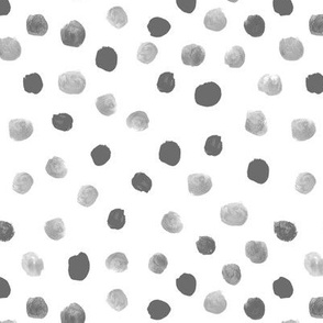 dots dot painted dot purple pastel girls baby girl nursery