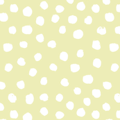soft yellow dots spots yellow painted dots girls sweet pastel soft