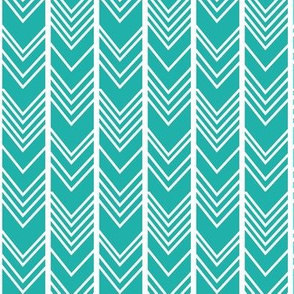 Light Sea Green - Herringbone