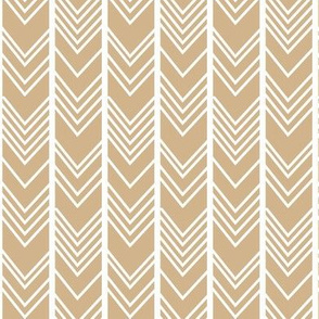 Tan Chevron - tan herringbone