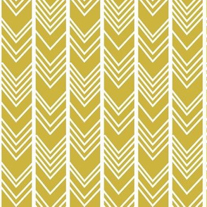 Gold Chevron - gold herringbone