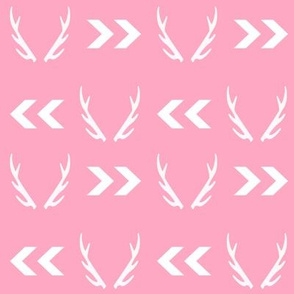 antlers pink girls sweet deer antler baby girl sweet nursery