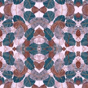 Sandbox tree leaves kaleidoscope 2