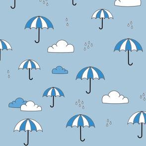 Umbrellas_Blue