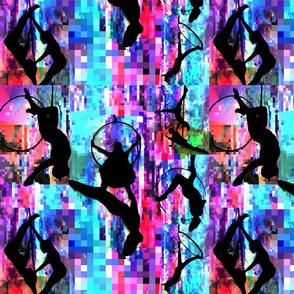 Pixel aerialist