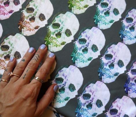 Rainbow Skulls Dark