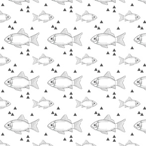 Fish and triangles