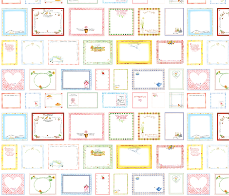 LABELS fabric by susanbranch on Spoonflower - custom fabric