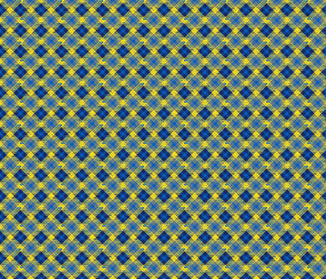 punktartan_blue fabric by susiprint on Spoonflower - custom fabric