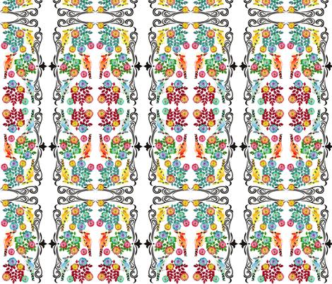 kookaburradesign2 fabric by featheralchemist on Spoonflower - custom fabric