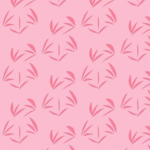 Rosy Pink Oriental Tussocks on Lolly Pink