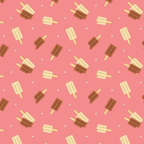 Popsicles on Pink