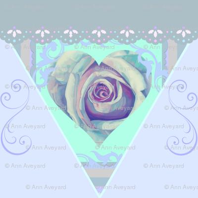 Heavenly Rose Bunting